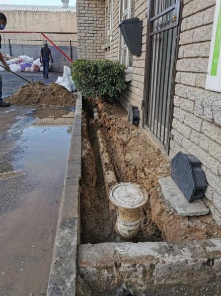 plumbing line repair